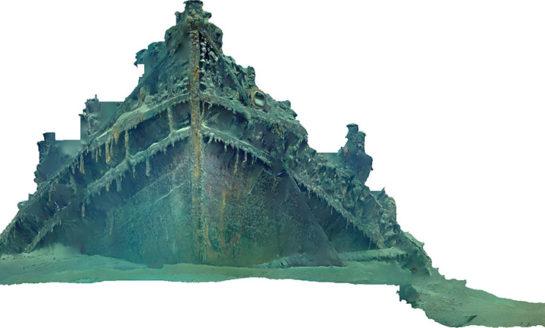 Publikacja opisująca zastosowanie 3D w archeologii morskiej