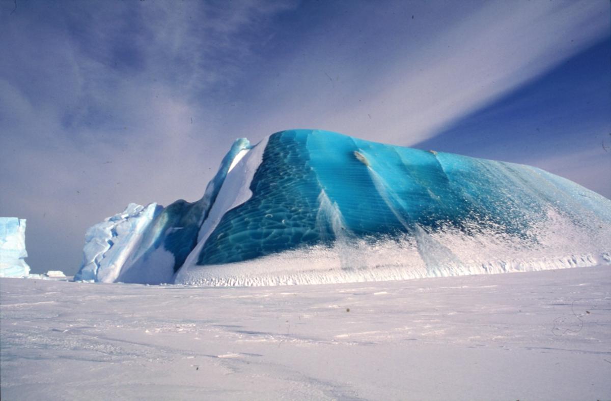 Tajemnice zielonych gór lodowych