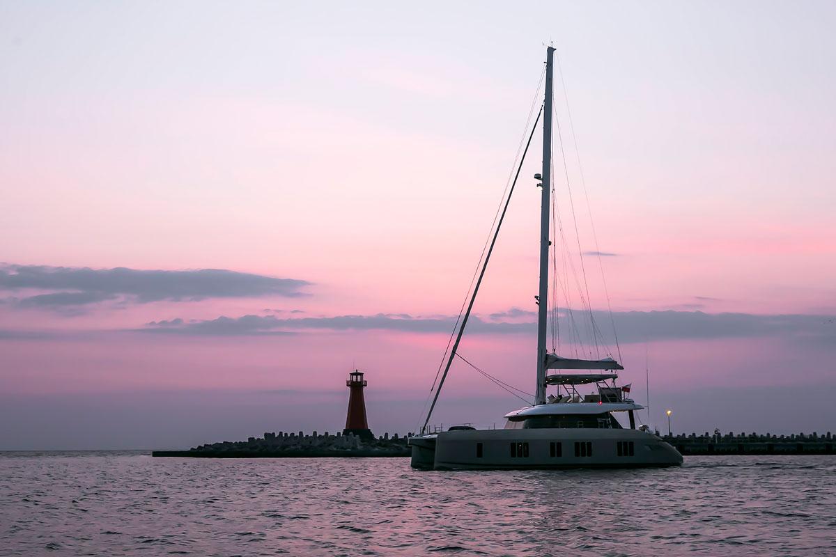 Sunreef Yachts woduje pierwszy katamaran Sunreef 50