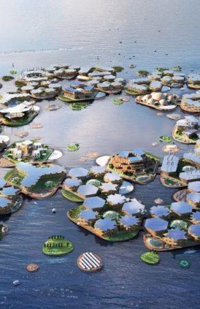 Oceanix City  - pływające miasta