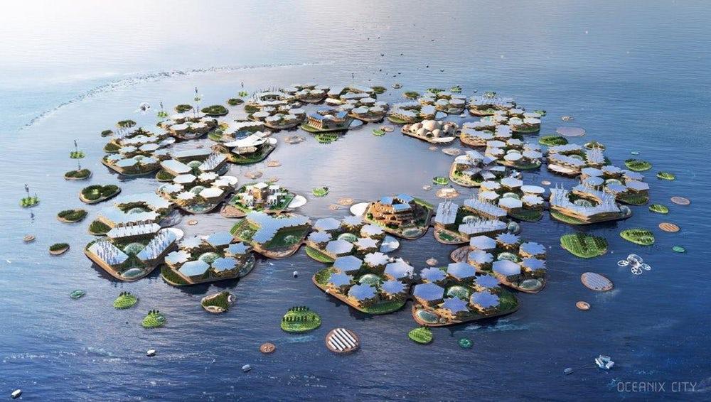 Oceanix City  – pływające miasta