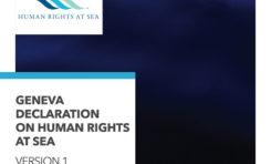 Powstała Deklaracja Praw Człowieka na Morzu
