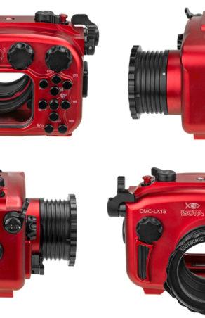 Czerwona Isotta do Panasonica DMC-LX15
