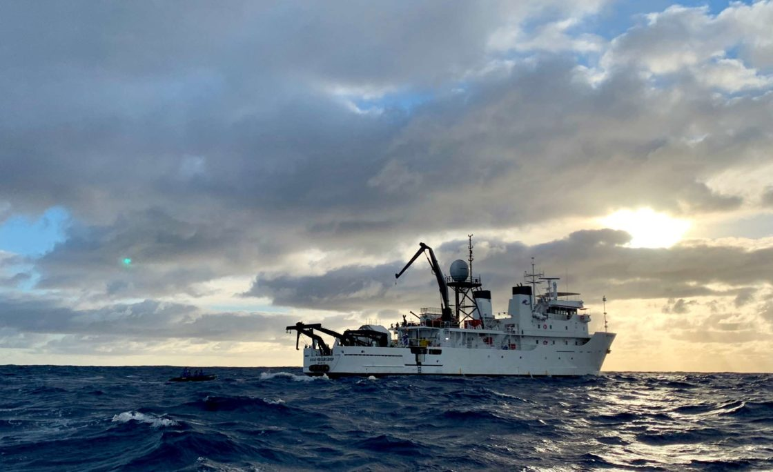 Five Deeps Expedition na dnie Rowu Tonga
