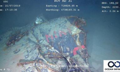Odnaleziono zaginiony przed 50 laty francuski okręt podwodny