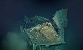 Nowo odkryty wrak to prawdopodobnie  USS Johnston