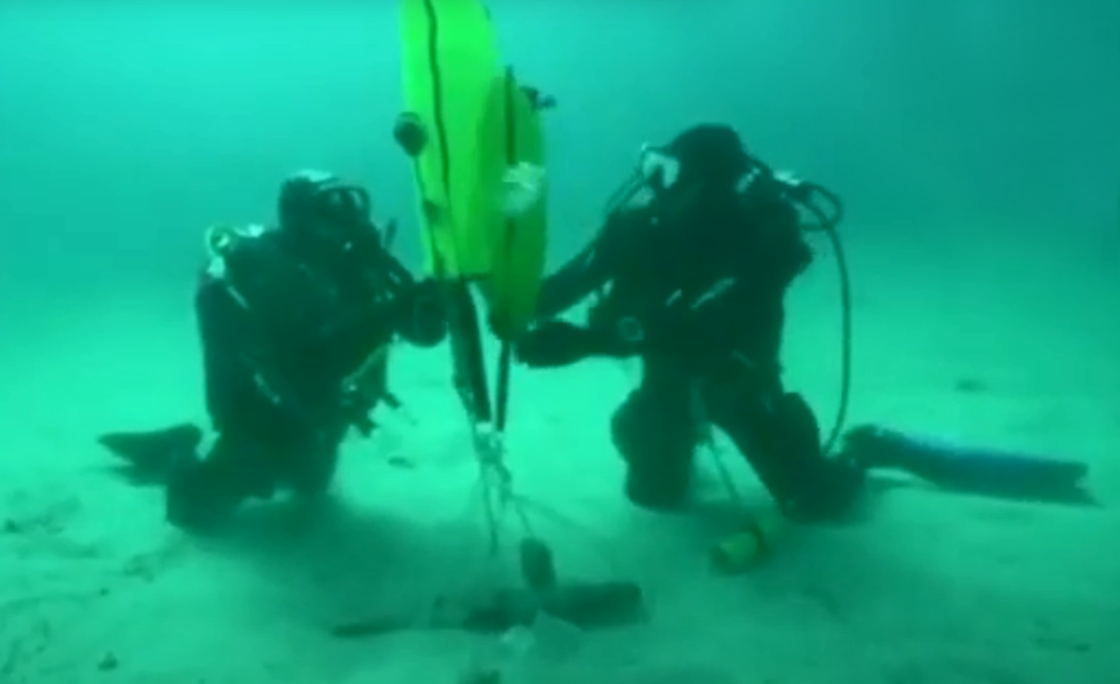 Odnaleziono kotwicę sprzed 2300 lat u wybrzeży Morza Śródziemnego