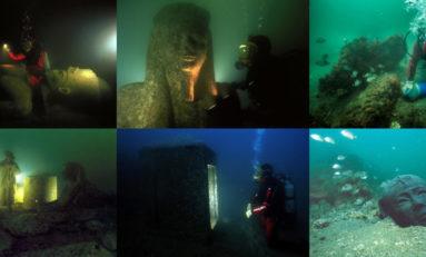 Podwodne zabytki Egiptu w serii filmów
