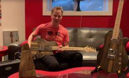 Gitara z 300-letniego drewna z wraku