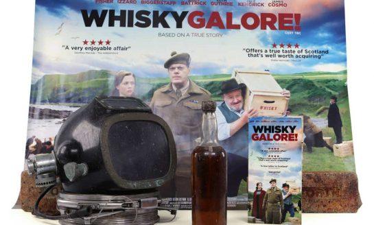 Whisky wydobyta z wraku statku, który zatonął w 1941 roku, przedmiotem aukcji