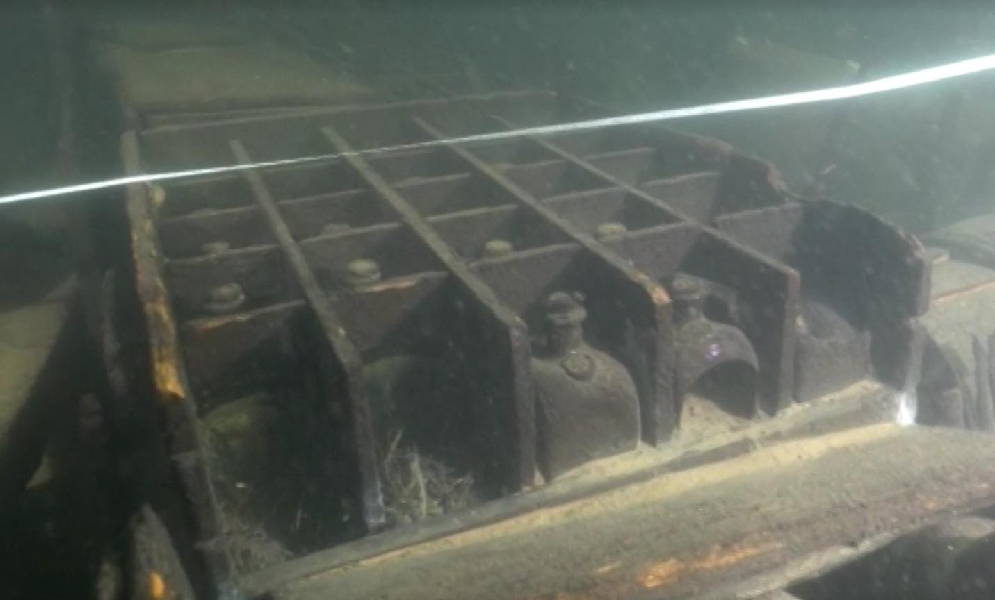 Przypadkowo odkryty wrak z początku XVIII wieku na dnie Zatoki Fińskiej zbadany przez nurków
