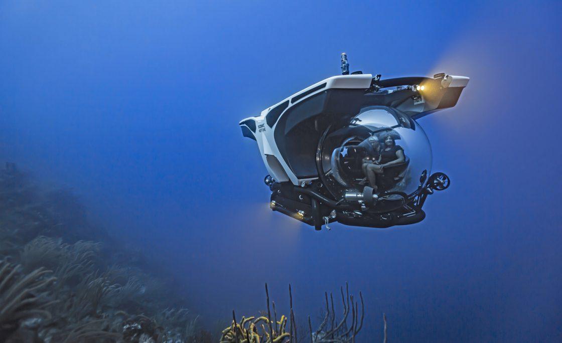 Podróż w głębiny oceanu w ramach luksusowego rejsu wycieczkowcem