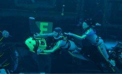 Podwodne zdjęcia z planu filmowego Avatara