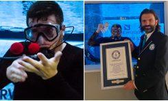Magiczne sztuczki pod wodą podczas dorocznego Światowego Dnia Rekordów Guinnessa