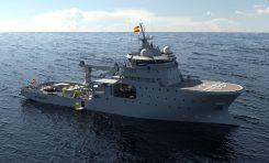 Okręt do działań ratowniczych i ochrony podwodnej wraków