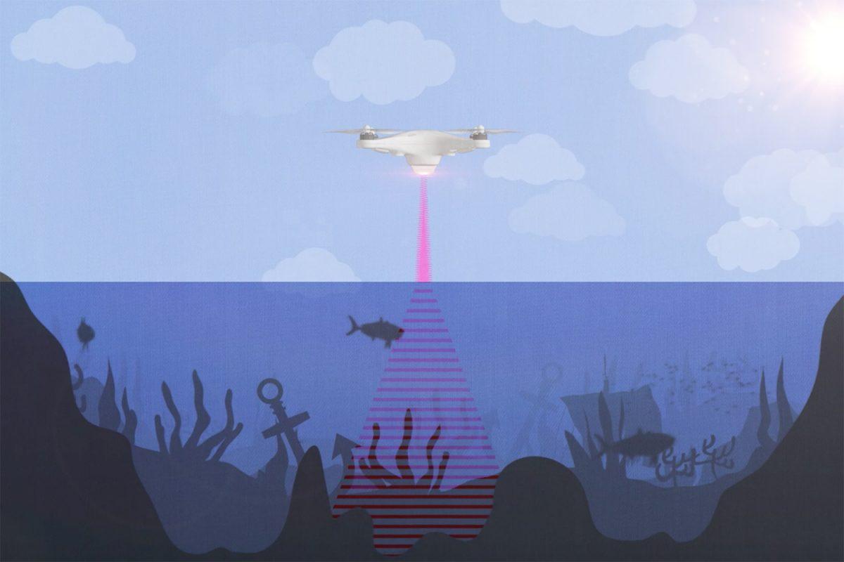 PASS – system sonarowy działający nad powierzchnią wody
