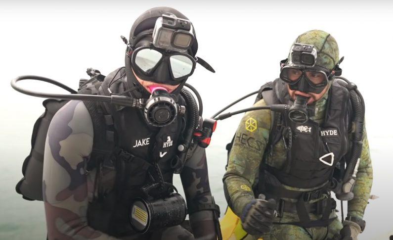 1 000 000 dolarów za znaleziony pod wodą ząb rekina!