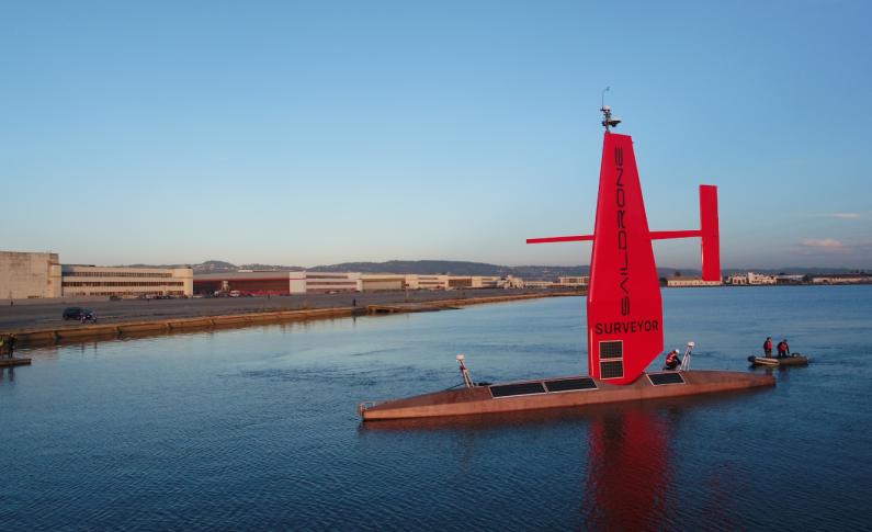 Największy morski dron do mapowania oceanów