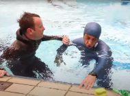 Budimir Buda Šobat ustanawia nowy rekord Guinnessa w nurkowaniu statycznym