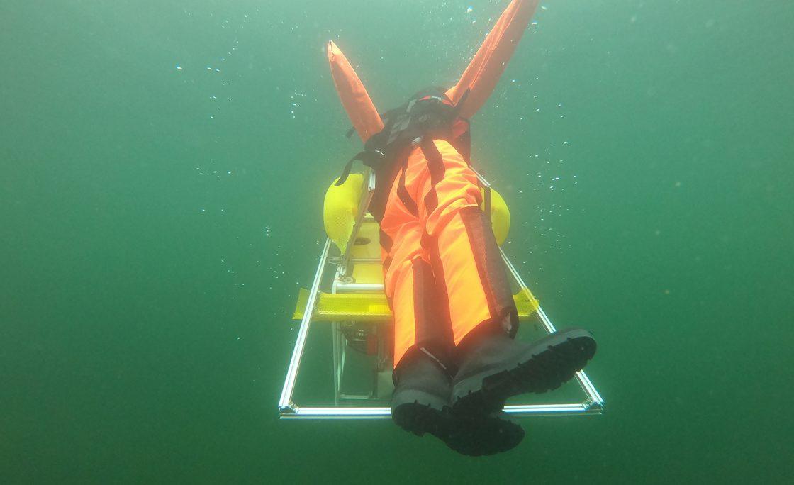 Robotyczny ratownik — podwodny robot do ratowania tonących