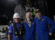 Pilotowany przez Victora Vescovo batyskaf ponownie zlokalizował, zbadał i sfilmował wrak okrętu USS Johnston