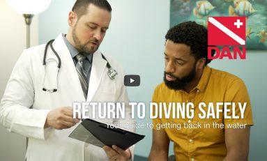 Przewodnik DAN dla wracających do nurkowania